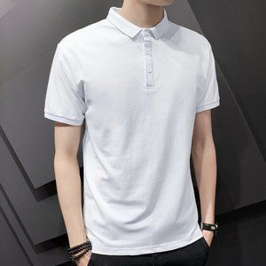 New men's trendy short-sleeved t-shirt D